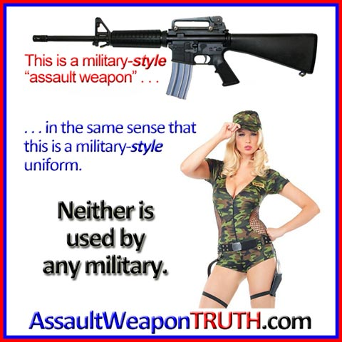 "What does ""military-STYLE"" mean?"